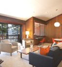 Living Area with lake view!