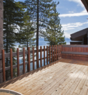 Deck with lake view!