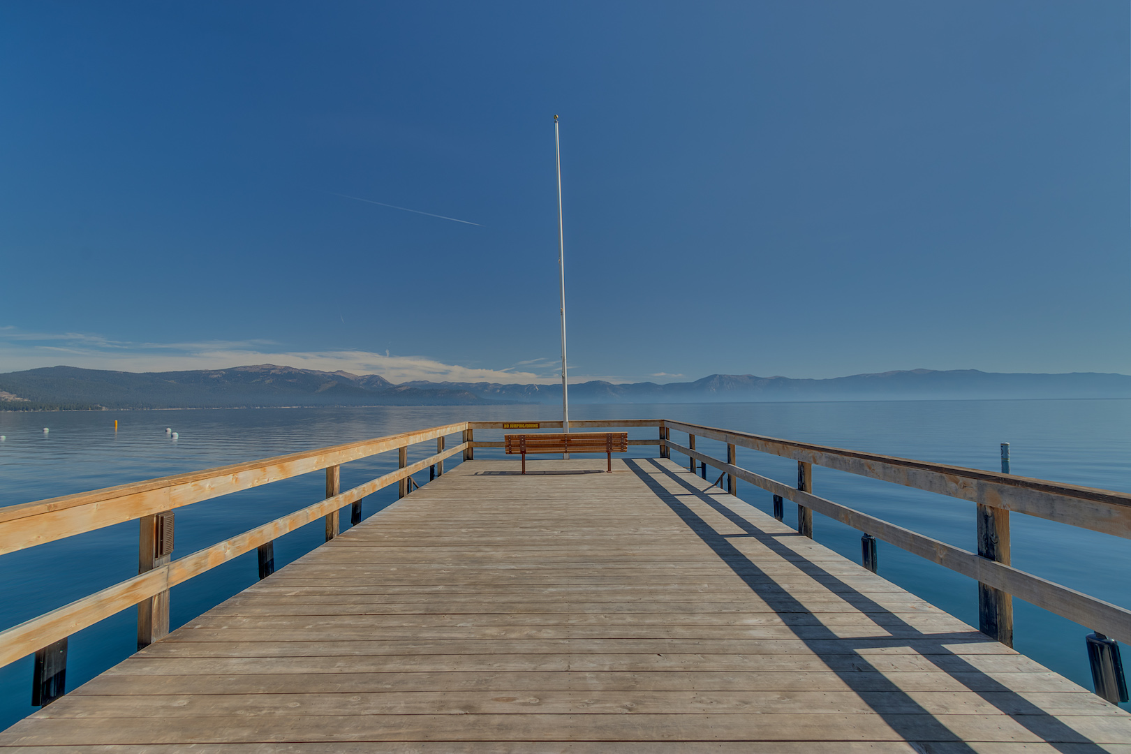 Relax at the end of the dock!