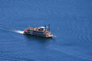 Aerial Photo of One of the Best North Lake Tahoe Boat Tours.